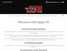 Tablet Preview of adisupply.co.uk